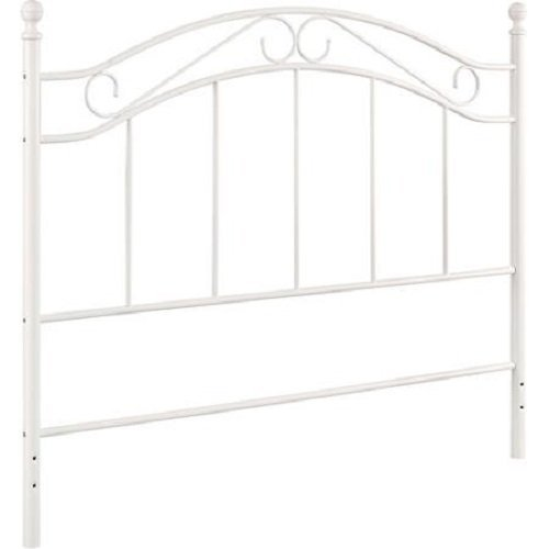 Bed Mainstays Fits Full/Queen Metal Headboard Frames (White)