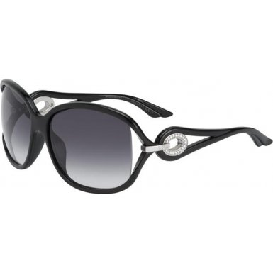 Dior STR-D28 Shiny Black Volute 2 Butterfly - Dior Sunglasses Butterfly