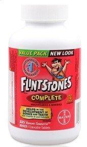 Flintstones Chewable Multiple Vitamins Complete Value Pack 225 Tablets Review