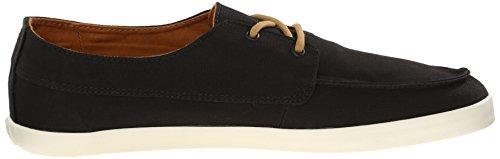Reef - REEF DECKHAND LOW BLACK, Sneakers uomo, color Nero (BLACK / BLA), talla 40
