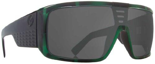 Dragon Alliance Domo Sunglasses (Green Stripe, Grey)