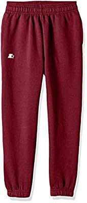 Starter Boys' Elastic-Bottom Sweatpants with Pockets, Amazon Exclusive