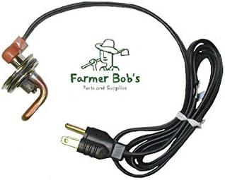 """Kat's Frost Plug Engine Heater - 2-1/4"""" NPT 750 Watt w/ 120 Volt USA Made Farmer Bob's Parts 30107"""