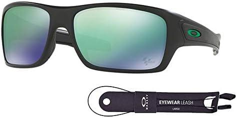 Oakley Turbine OO9263 Sunglasses For Men BUNDLE with Oakley Accessory Leash Kit