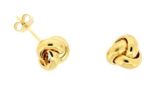 Boucles d'Oreilles - ERG-K21008 - Femme - Or Jaune 375/1000 (9 Cts) 0.7 Gr