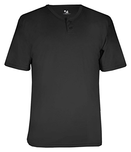 Badger Men's B-Core Henley Tee (Badger T-shirt Henley)