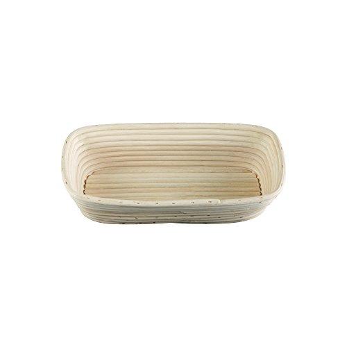 m Rectangular Bread Rising Basket, 12-Inch by 5.5-Inch ()