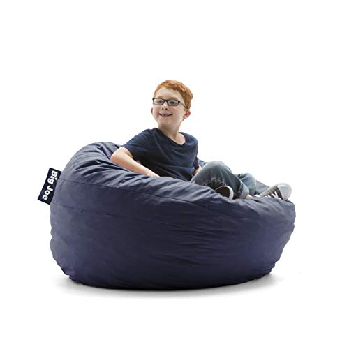 Big Joe 0030657 Kid's Fuf Filled Chair, Cobalt Lenox Shredded Foam Bean Bag, Blue (Chairs Bean Kids Bag)