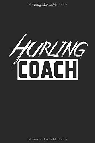 Hurling Spieler Notizbuch: 100 Seiten | Kariert | Fan Fußball Irland Geschenk Hurl Gälisch Trainer Hurler Irisch Ire Team Sliotar