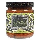 corn black bean salsa - Desert Pepper Trading Co, Corn, Black Bean, Red Pepper Salsa, 16 Oz (Pack of 3)