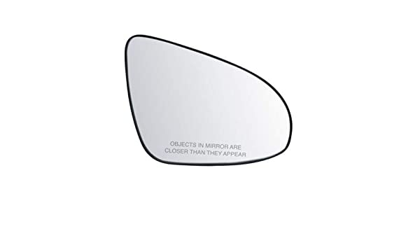 For Nissan Altima 07-13 Passenger Side Mirror Glass w Backing Plate Heated