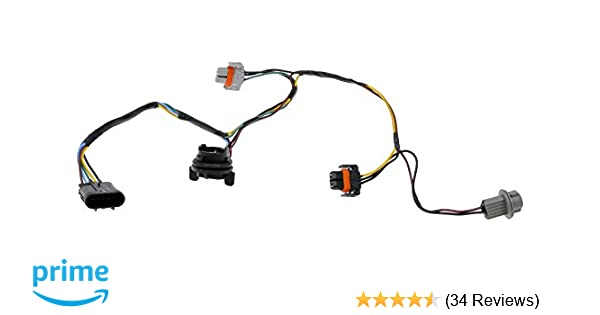 OEM Head Light Socket Wiring Harness Front Right Left SET 08-12 Malibu 15930264