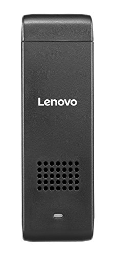Lenovo ideacentre Stick 300 Desktop Stick PC (Intel Atom Z3735F Quad-Core Prozessor, 1,83GHz, 2GB RAM, 32GB HDD, W-LAN, Windows 10) schwarz