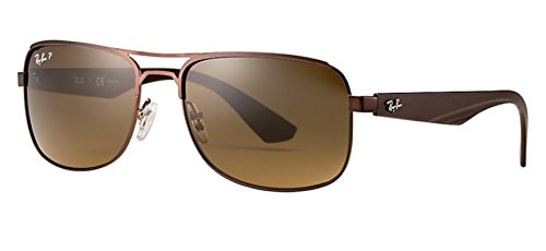 Ray-Ban Unisex 0RB3524 Brown - Ban Ray Website Sunglasses
