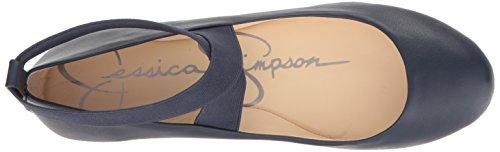 Jessica Simpson Women's Mandayss Ballet Flat Navy Baby footlocker pictures sale online buy cheap classic JugizR