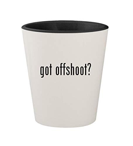 got offshoot? - Ceramic White Outer & Black Inner 1.5oz Shot ()