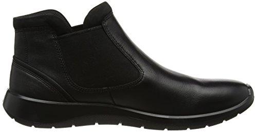 Ecco Damen Morbido 5 Stivali Chelsea Blau (nero / Nero)