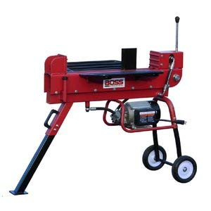Boss Industrial ED10T20 Industrial Electric Log Splitter, 10-Ton