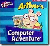ARTHUR'S COMPUTER ADVENTURE (Computer Reading Games For Kids)