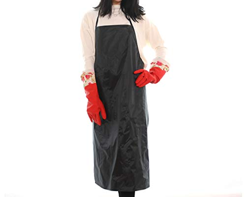 Minittine Korean Kimchi Making Apron Gloves Kimjang Set Multi functional