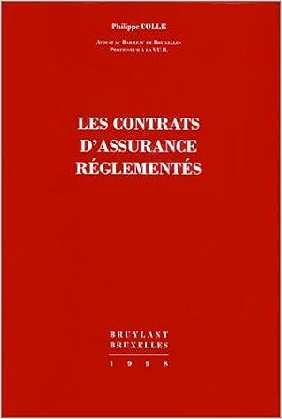 Télécharger en ligne Contrats d'assurance, règlements pdf epub