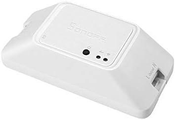 Docooler SONOFF Basic R3 Modo DIY Interruptor programado Inteligente Soporte App//LAN//Control de Voz