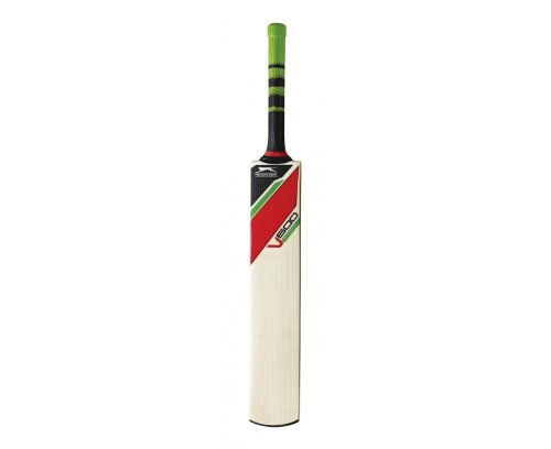 SLAZENGER V600 Ultra Adult Cricket Bat, Short Handle - Medium Weight