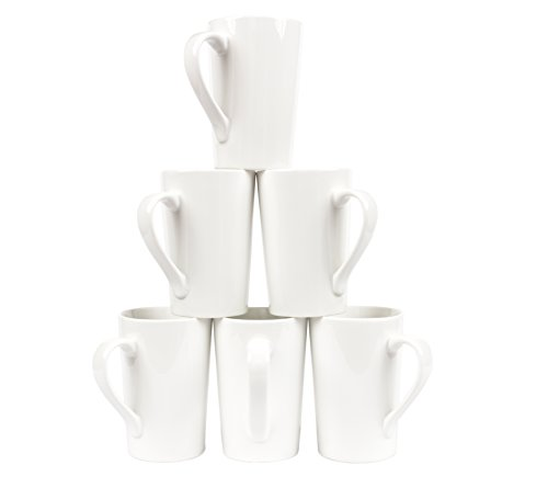 Professional Gourmet Tall Mug (Set of 6) (White)  -