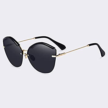 TIANLIANG04 Fashion Cat Eye Lunettes de soleil Femme Lunettes de soleil Miroir lunettes UV400 ultra-léger féminin,C05Green