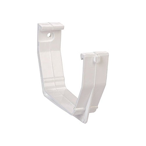 Raingo RW106H White Gutter Bracket - Raingo White Gutter