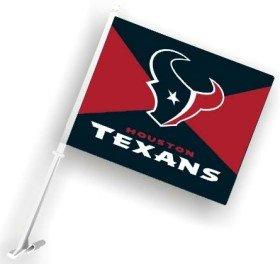 NFL Houston Texans Car Flag