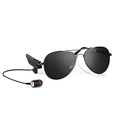 UniAux Bluetooth Sunglasses Polarized glasses headset wireless music Bluetooth sports sunglasses headphone for all smartphones