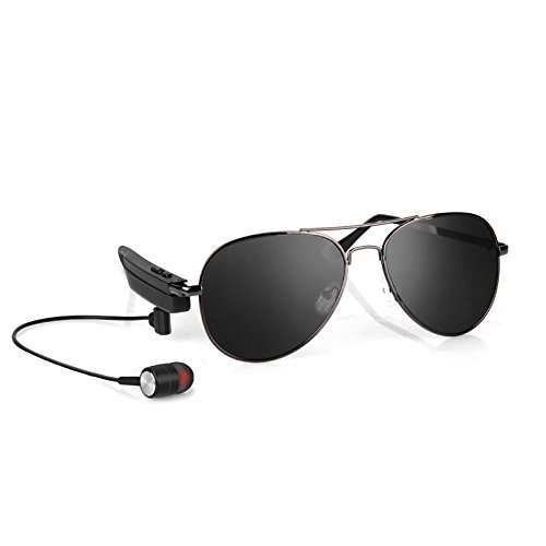 Audio Sport Blue Headphones - Bluetooth Sunglasses for Men Women Sunglasses