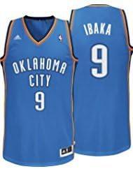 Adidas - Camiseta de Serge Ibaka del equipo de la NBA Oklahoma ...