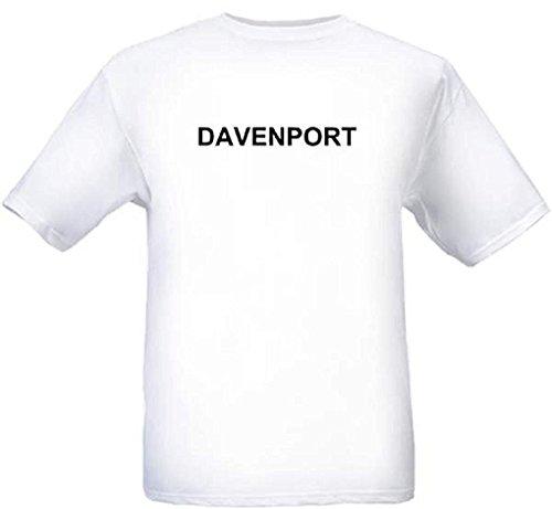DAVENPORT - City-series - White T-shirt - size Small -