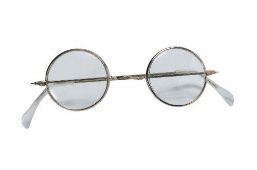 Glasses Round (Round Wire Rim Glasses Costume Accessory)