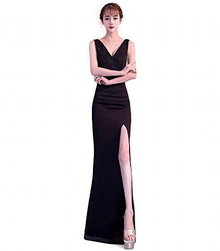 Banquet Yt Élégante Sirène Noir Soirée Robe De re qwXwHTa