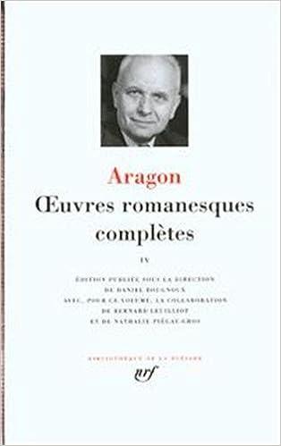 Livres gratuits en ligne Aragon : Oeuvres romanesques complètes, tome 3 pdf