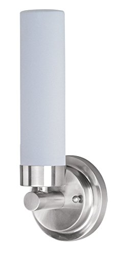Wall Sconces 4 Light with Satin Nickel Tones Finished LED Bulbs 5 inch 9.6 Watts (Cilandro 4 Light)