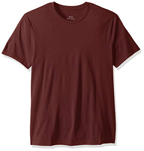 A|X Armani Exchange Men's Pima Cotton Jersey Short Sleeve Tshirt, Chocolate Truffle, S ()