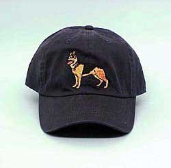 Cap: German Shepherd