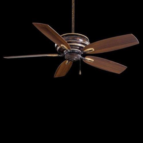 Minka Gold Ceiling Fan - Minka-Aire F614-MCG, Timeless, 54