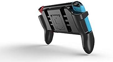 HEYSTOP Nintendo Switch Accessories, Nintendo Switch Grip Stand + Joy-con Grips + Ranuras para Tarjetas de Juego + Apretones para Pulgar: Amazon.es: Electrónica