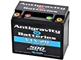 Antigravity Batteries - Lightweight Lithium Ion 16 Volt Motorcycle Battery - Small Case 16 Volt 20 Cell VTX12-20 - 500 CCA - MADE IN THE USA - Chopper Bobber Cafe Racer Harley