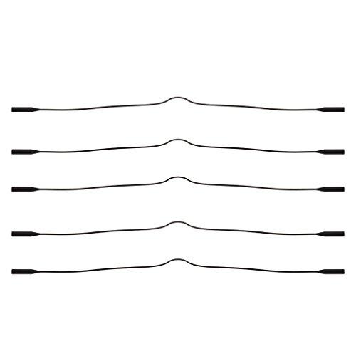 lectura de gafas para de piezas Antideslizante Cadenas de negro 5 sol Silicona Homyl UwP8qFxE