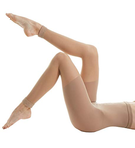(ASSETS by Sara Blakely Fabulous Footless High Waisted Pantyhose Tights - 268 (Nude / 6))