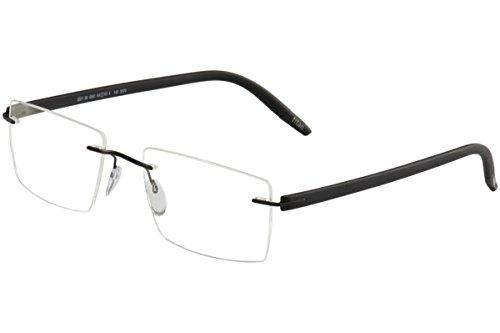 Silhouette Eyeglasses SPX Signia Chassis 5379 6061 Black Optical Frame 19X140mm
