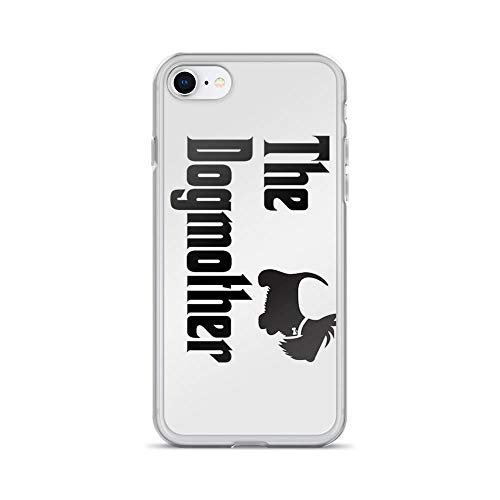 iPhone 7 Case iPhone 8 Case Clear Anti-Scratch The Dogmother Copyright Ã'Â BonniePortraits on Redbubble.com, The Dogmother Cover Phone Cases for iPhone 7/iPhone 8, Crystal Clear -