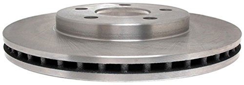 (ACDelco 18A971A Advantage Non-Coated Front Disc Brake Rotor)