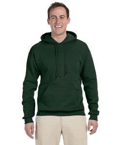 Jerzees 8 oz. NuBlend 50/50 Pullover Hood, Forest Green - Medium